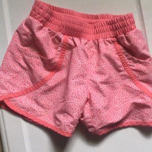 Girls youth medium (10/12) pink/white design